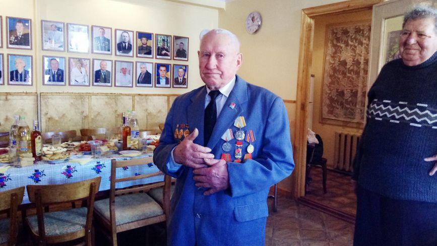 90-річний Микола Рибак обслуговував атомні бомби