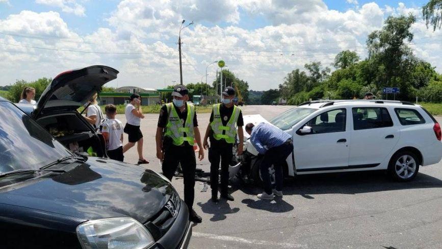ДТП на махнівському перехресті: чому зіткнулися 4 автівки? Коментар поліції