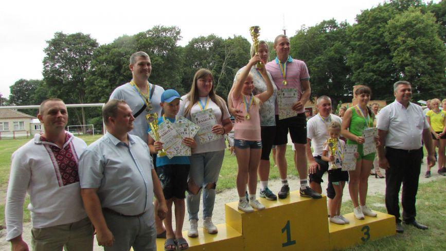 В Кашперівці пройшли сільські спортивні ігри, які за фактом були святом спорту