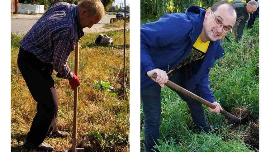 Зробимо Козятин бузковим:«Потрібні лопати та велике бажання зробити щось корисне»