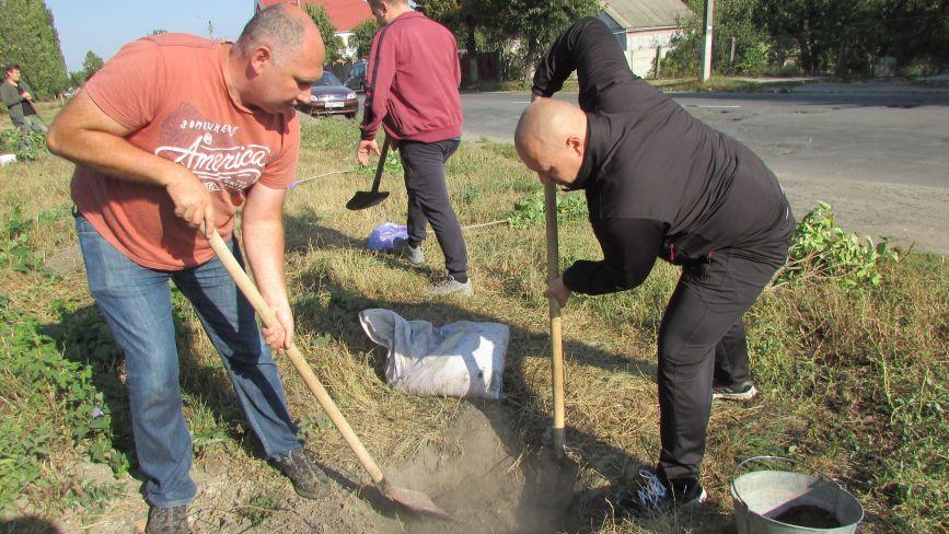 Як козятинчани робили своє місто зеленішим (ФОТО)