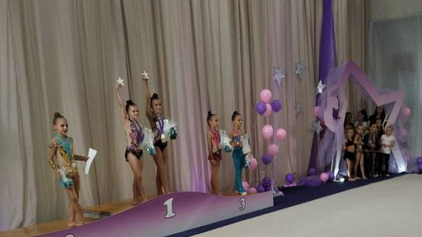 Козятинські гімнастки в столиці завоювали 11 медалей, із них 7 – золоті