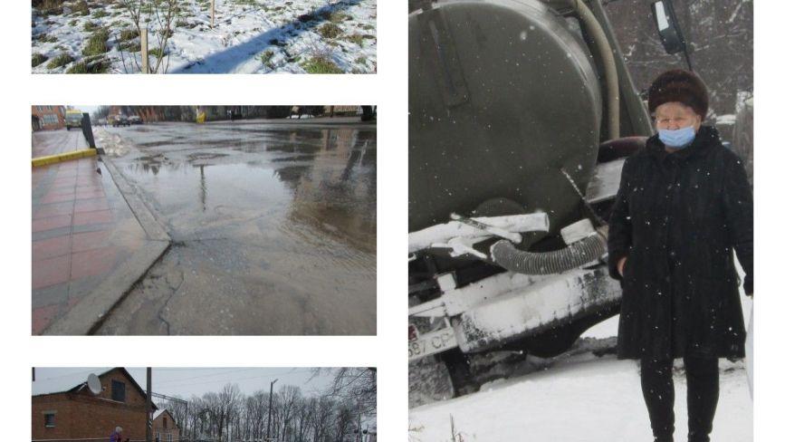 Прогулянка Козятинщиною: жертва ожеледиці, автівка з дровами та фонтани з водогону