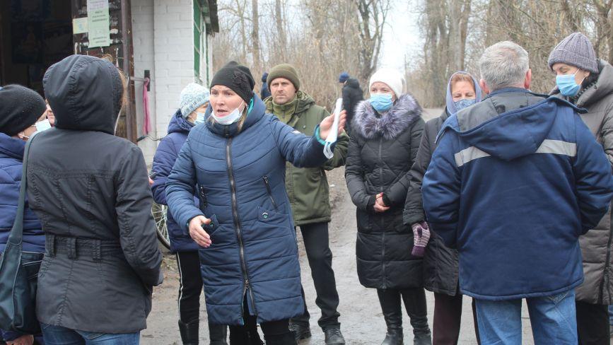 Мешканці села Козятин проти закриття ФАПу