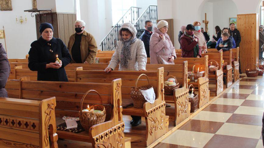 Як козятинчани в костелі католицький Великдень відмічали