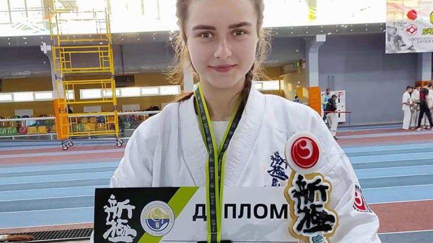 Козятинчанка Анна Сас стала чемпіонкою України в розділі куміте