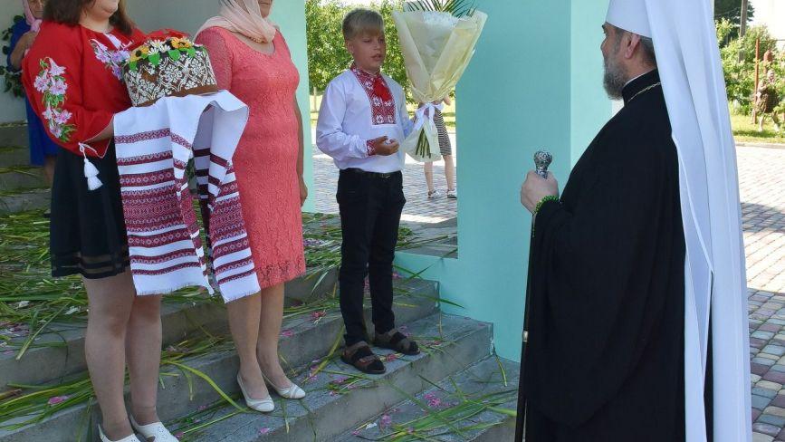 Кордишівку відвідав митрополит Вінницький і Барський Симеон