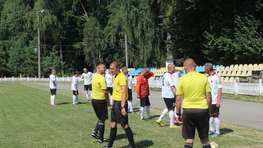 Ветерани «Моноліта» впевнено перемогли команду з Баранівки (РЕПОРТАЖ)
