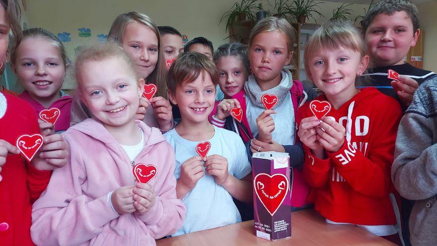 Козятинські школярі  підтримали благодійну акцію  «Серце до Серця». Скільки зібрали?