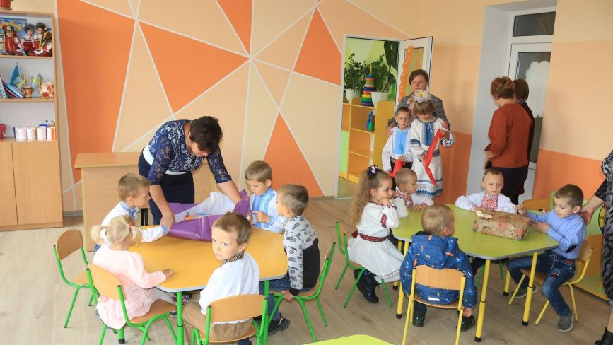 У Флоріанівці відкрили сучасний дитячий садочок