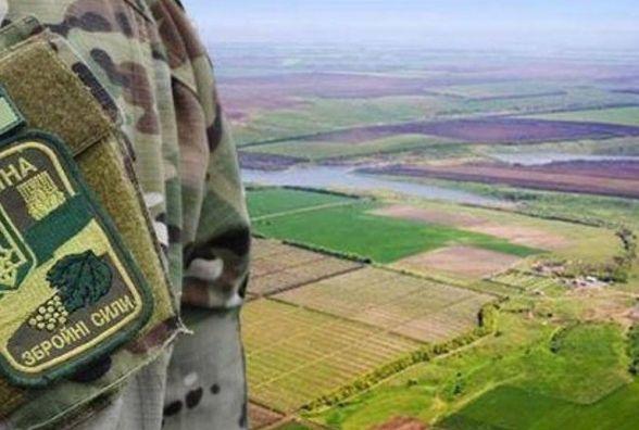 Більше тисячі наказів про надання землі військовим прийняли за тиждень