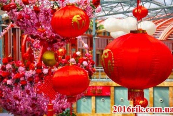 Китайський новий 2017 рік настане 28 січня