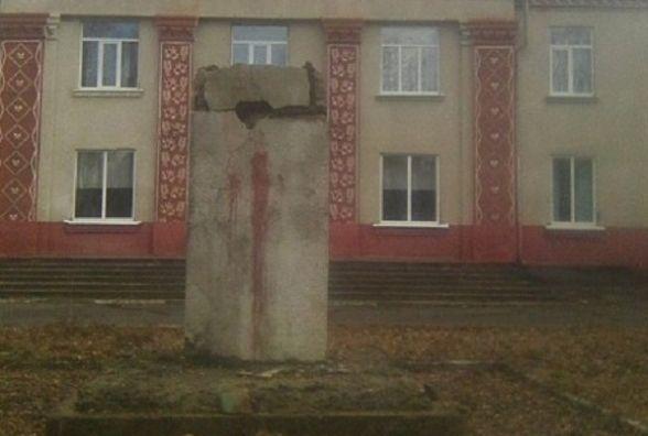 У Барському районі найдовше простояв пам'ятник Леніну. Його лише на днях знесли