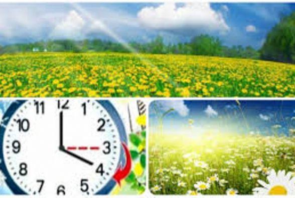 Переходимо на літній час 26 березня у неділю
