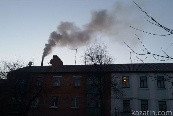 Вечірній Козятин в районі димових завіс