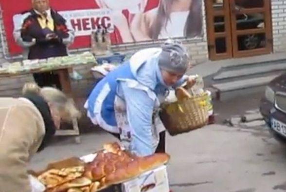 Хамство  на козятинському базарі