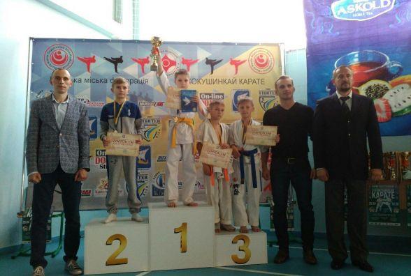Юні козятинчани-каратисти стали призерами у Київі