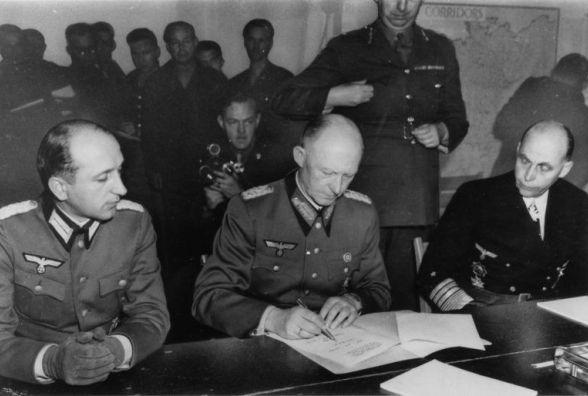 Цей день в історії — капітуляція Німеччини в Реймсі