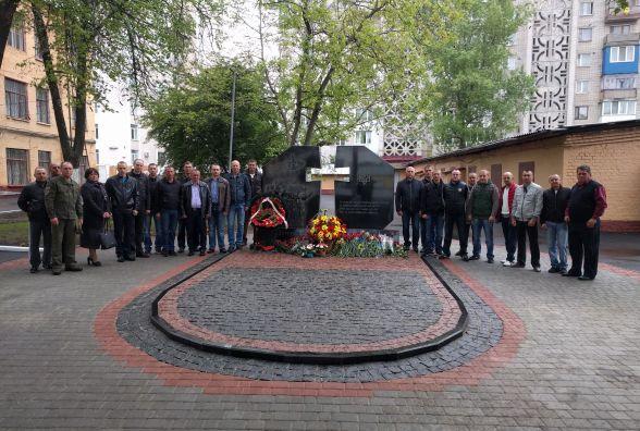 Пам'ять про загиблих в АТО нацгвардійців увіковічнили у мармурі