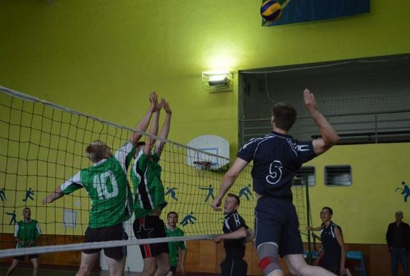 Пройшли чергові змагання з волейболу
