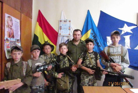 Гурток військової історії об'єднує юних патріотів