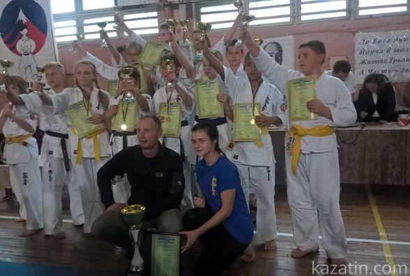 """Каратисти на """"Кубку Оями"""" взяли призове місце"""