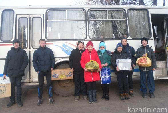Школярі стали волонтерами