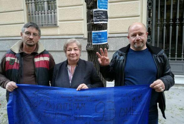 Українці з Іспанії хочуть достукатись до Будапешту
