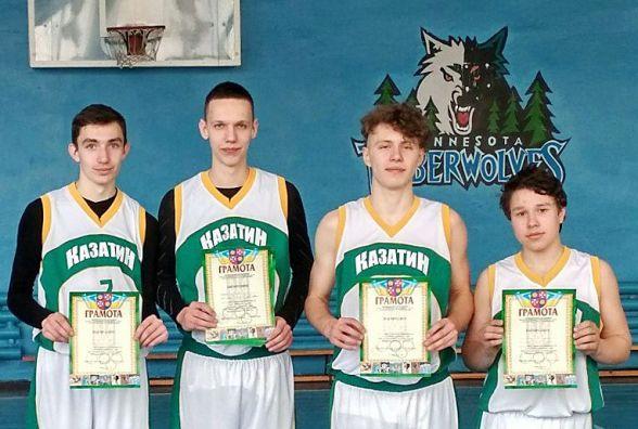 Баскетболісти на висоті