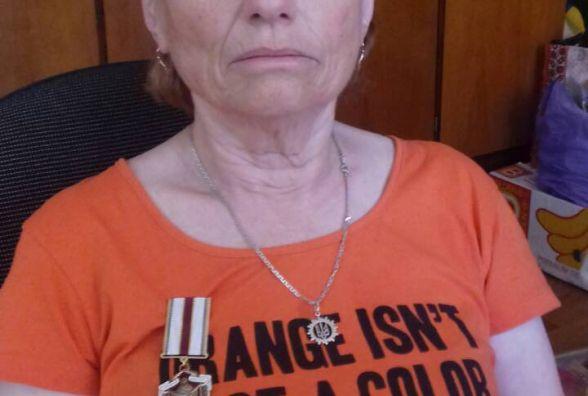 Матері сина, який загинув на сході України, вручили медаль