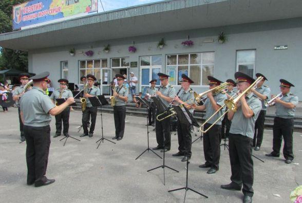 Дитячий День міста з військовим оркестром