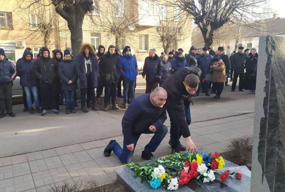 У Козятині вшанували пам'ять українських воїнів