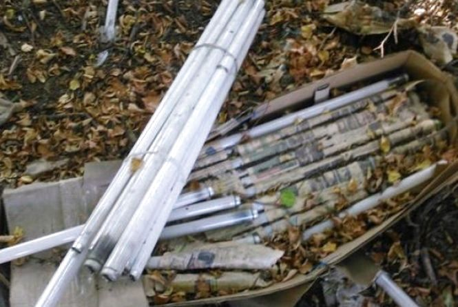 На Вінниччині за 100 тисяч прибрали звалище люмінесцентних ламп