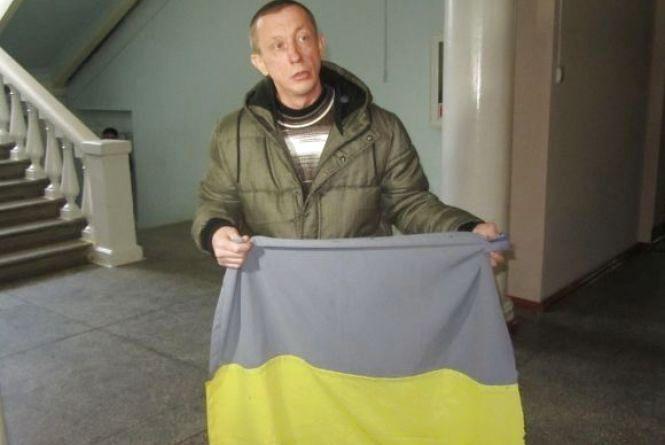Кіборгу дали три роки за… прапор - в суді його захищав заступник Генпрокурора України
