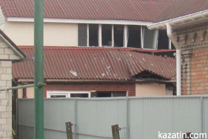 У Гаєвського вибухнуло горище