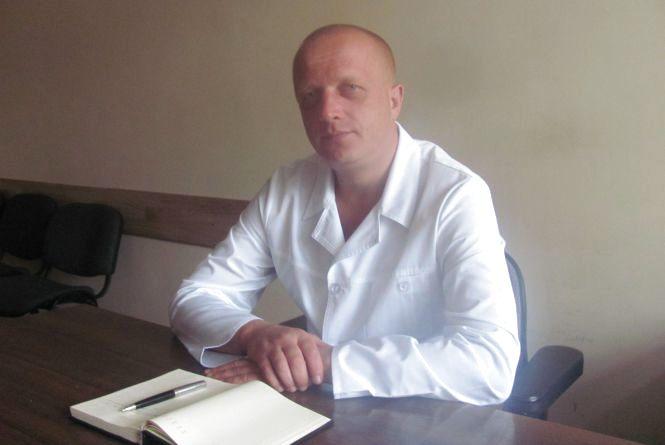 Всі знають головного лікаря Кравчука через професіоналізм