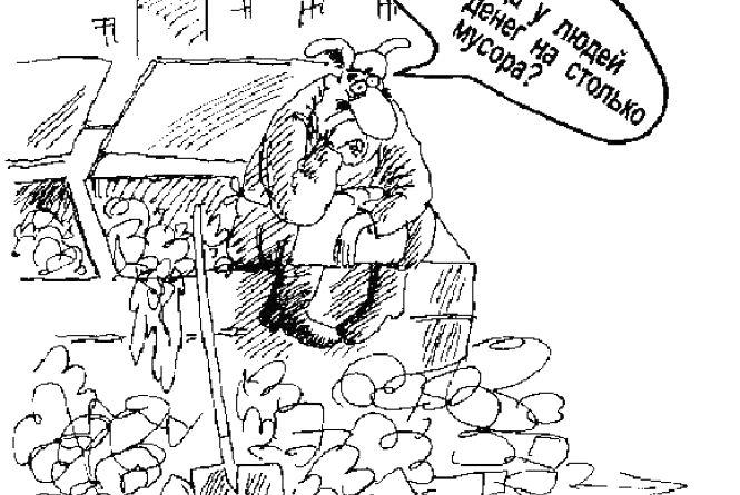 Базаркома звинувачують у створенні смітника