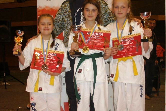 Наші каратисти отримали призові місця на чемпіонаті у Львові