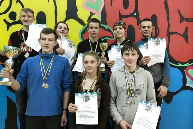 Вадим Липський переміг в області на змаганнях з туризму