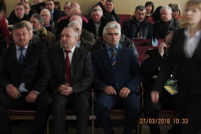 Пенсіонери з чиновниками відзначили 95-річчя Козятинського райвідділу поліції (відео-фото)