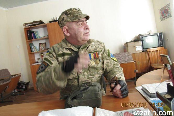 Фронтовий гумор ветеранів АТО в Козятині (відо)