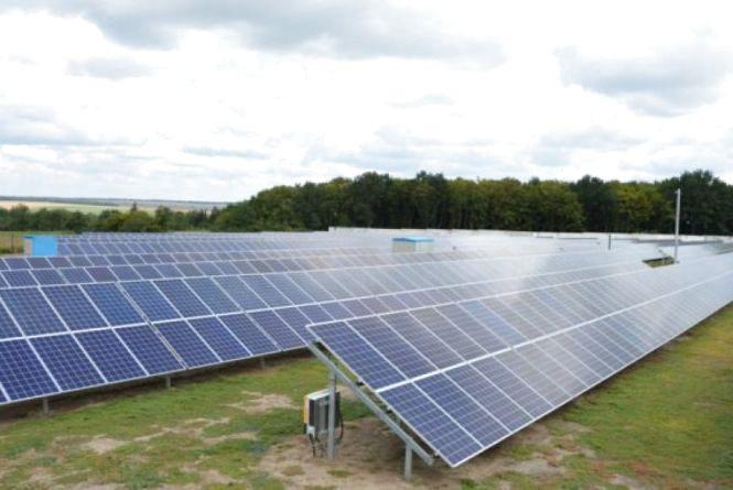 Сигнал вибрали для сонячної електростанції