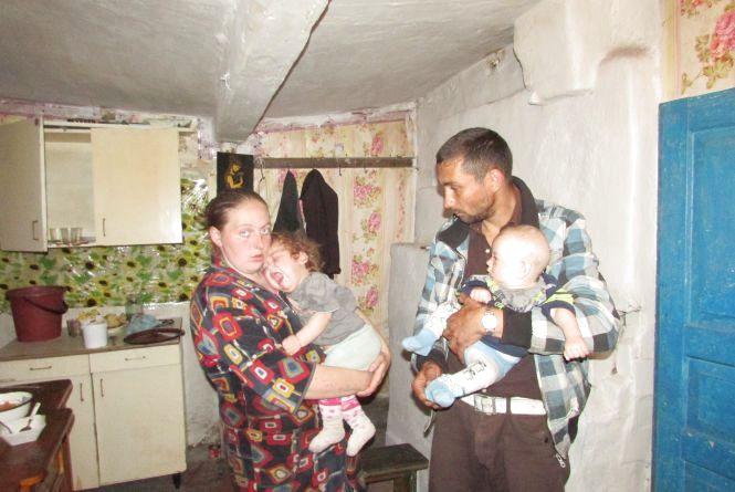 Багатодітна сім'я на грані виживання