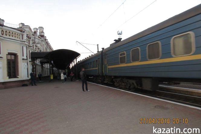 Акція протесту. Москалі перекрили  залізничну дорогу в Козятині