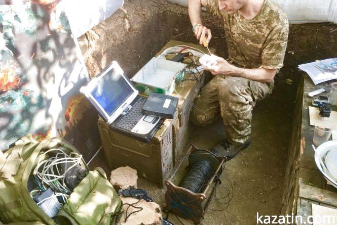 Допомагаємо  ЗСУ . Волонтерський центр РІА в Золотому  покращує боєздатність ЗСУ
