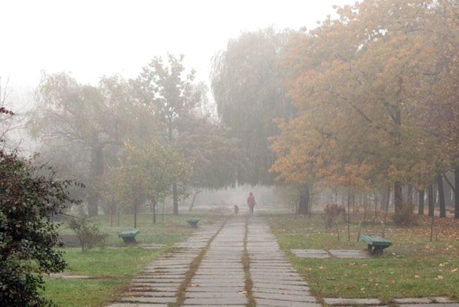 30 жовтня в Козятині: туманно, але тепло