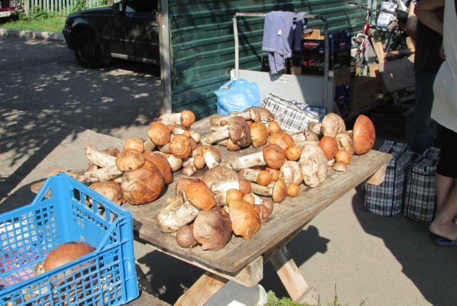 Купуйте гриби з товарним виглядом