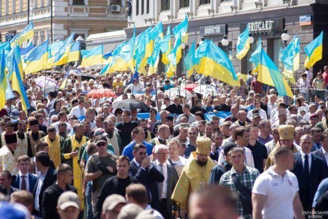 Хресна хода: православних київського патріархату було втричі більше
