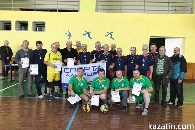 Міські ветерани волейболу перемогли у турнірі аматорів