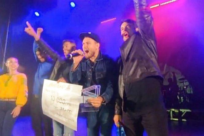 """Козятинський гурт """"DRAFT"""" переміг у конкурсі рок-музики «Відродження-2018»"""